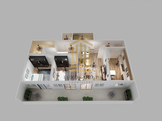 Comision 0% | Apartament 3 camere | Etaj intermediar | Zona de Vest