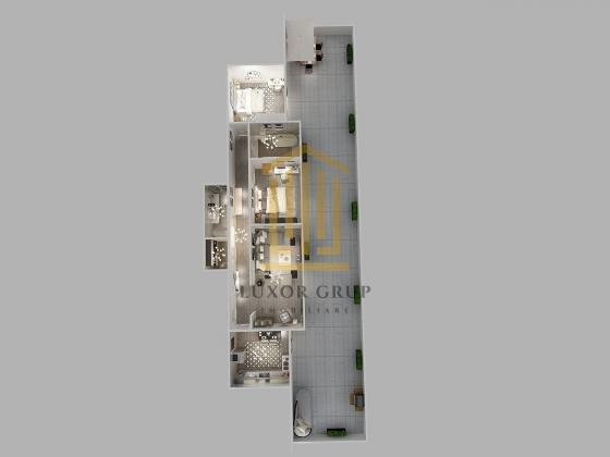 Comision 0%   Penthouse 3 camere   Decomandat   Etaj retras   Lift