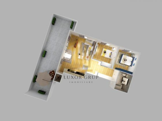 Direct dezvoltator   Penthouse 3 camere   Decomandat   Zona de Vest