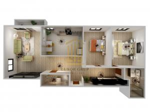 Direct Dezvoltator | Apartament 3 camere | Balcon | comision 0%