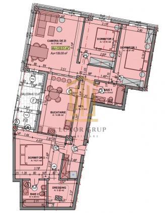 Direc dezvoltator   Apartament 3 camere   Etaj 3   Lift