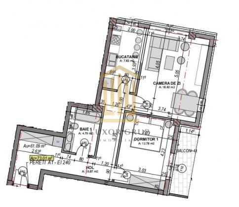 Direct dezvoltator | Apartament 2 camere | Etaj 2 | Lift
