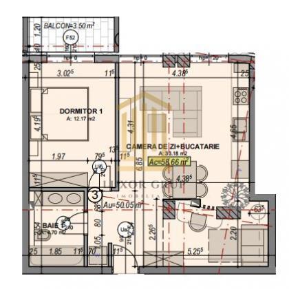 Direct dezvoltator   Apartament 2 camere   Etaj 2   Turnisor