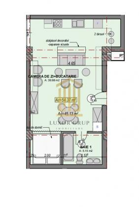 Direct dezvoltator | Garsoniera | Etaj intermediar | Lift