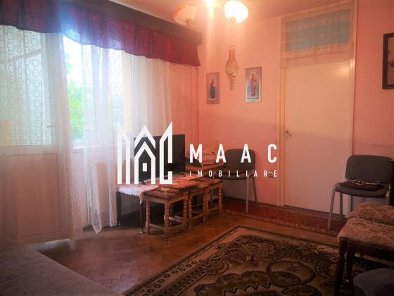 Apartament 2 camere | Etaj 1 | Balcon | Zona Cedonia