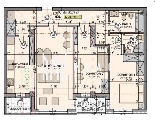 Comision 0%   Apartament 3 camere   Etaj intermediar   Lift