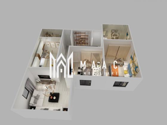 Direct dezvoltator | Apartament 3 camere | Parter | Loc parcare