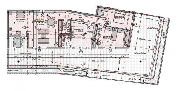 Direct dezvoltator   Apartament 4 camere   Etaj Retras   Lift