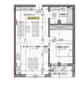 Direct dezvoltator | Apartament 2 camere | Etaj intermediar