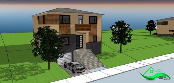 Casa 110 mp,4 cam.3 bai,250 mp teren, pivniță 20 mp.Corunca