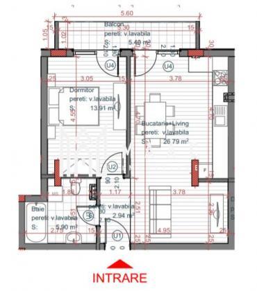 Comision 0% | Apartament 2 camere | Etaj 2 | Lift | Turnisor