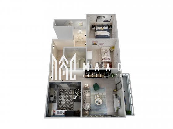 Comision 0% | Apartament 3 camere | Balcon | Lift