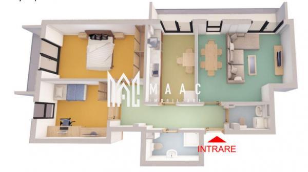 Comision 0% | Apartament 3 camere | Etaj intermediar | Piata Cluj