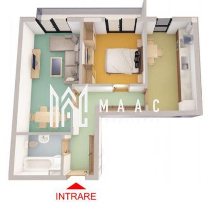 Direct dezvoltator | Apartament total decomandat | 2 camere