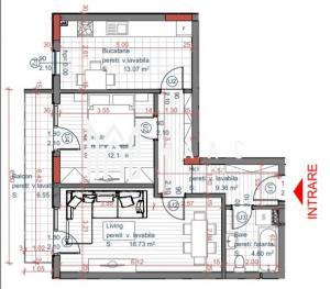 Comision 0%   Apartament 2 camere   Decomandat   Etaj 1